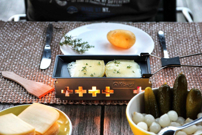 kisag raclette candle light kochen fondue und raclette. Black Bedroom Furniture Sets. Home Design Ideas